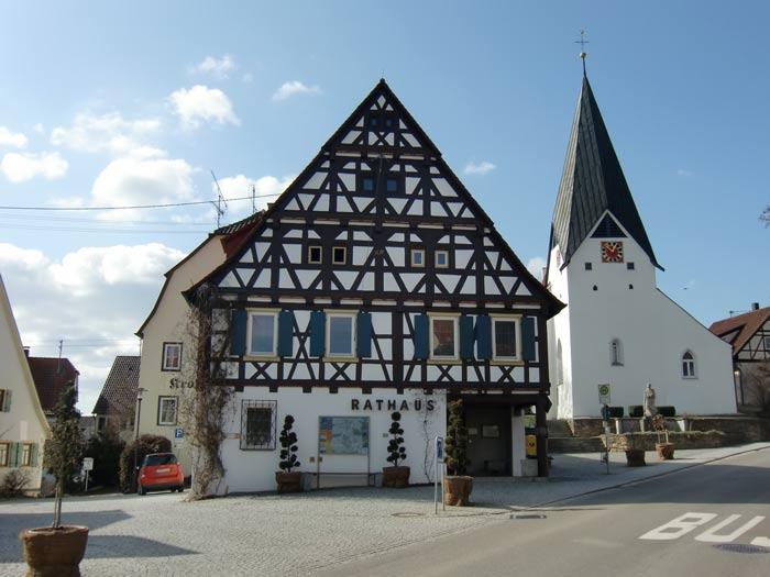 Voralbgemeinden um Bad-Boll Rathaus Hattenhofen - Ingenieurbüro Sattler - Energiemanagement