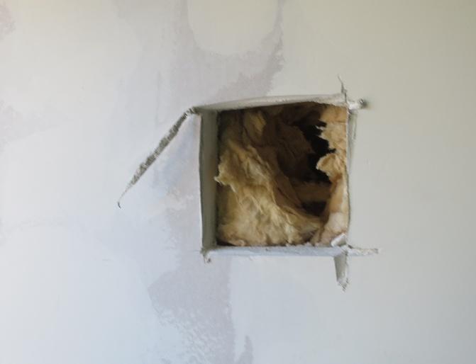 Fehlende Dampfsperre in einer Gaubenwand Ingenieurbüro Sattler - Bausachverständiger