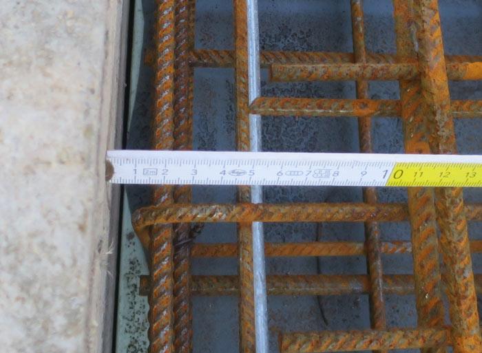 Verfüllung des Arbeitsraumes mit ungeeignetem Material - Ingenieurbüro Sattler - Bausachverständiger