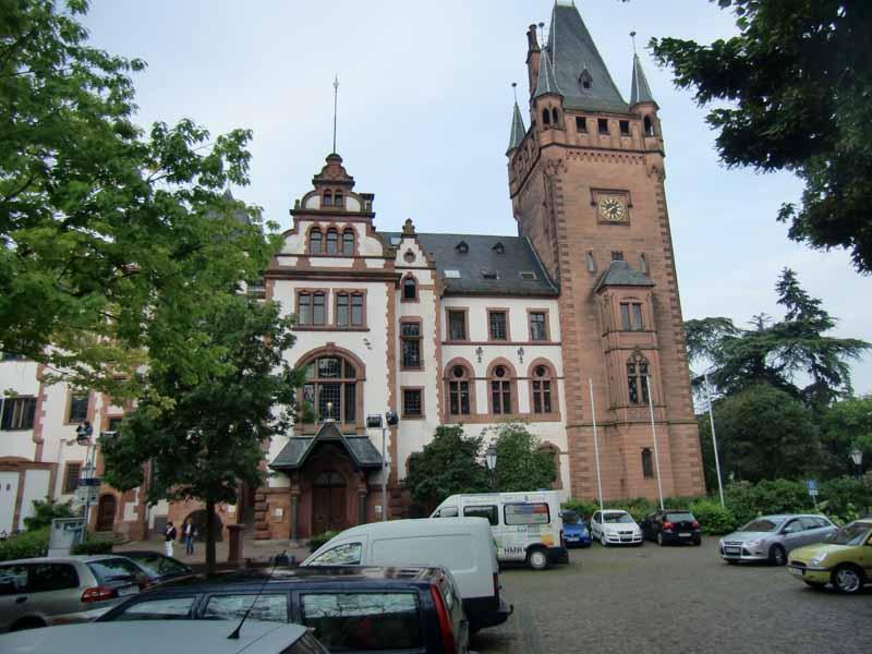 Rathaus Weinheim - Ingenieurbüro Sattler - Energiemanagement