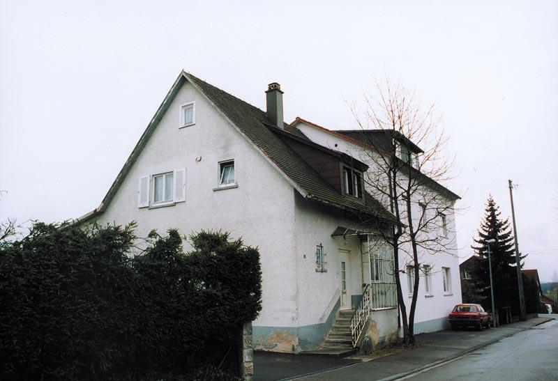 Wohnhaus Fronmüller in Gerstetten vor der Sanierung - Ingenieurbüro Sattler - Energieberater