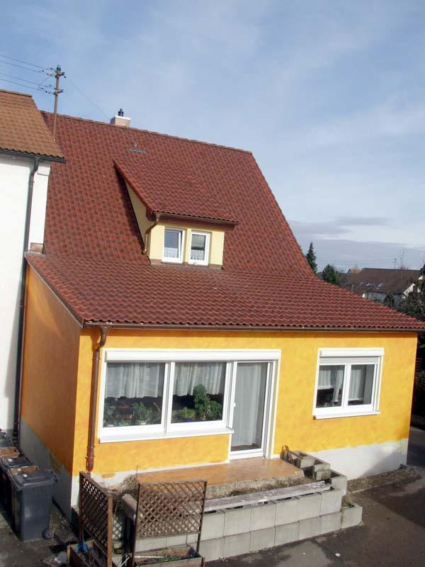 Wohnhaus Fronmüller nach der Sanierung - Ingenieurbüro Sattler - Energieberater