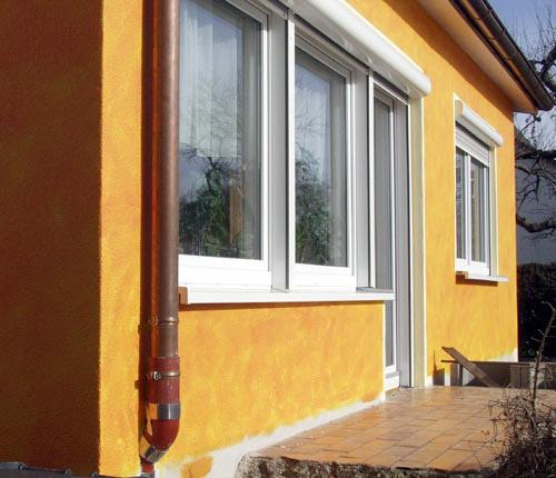 Vollwärmeschutz Wohnhaus Fronmüller - Ingenieurbüro Sattler - Energieberater